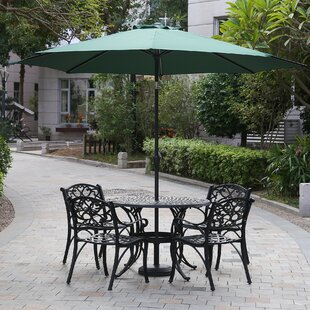 Alcott Hill Hatten 10' Market Umbrella