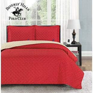 Mckenna 3 Piece Reversible Quilt Set