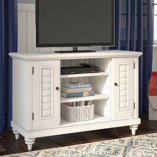 Inexpensive Harrison TV Stand for TVs up to 43 by Beachcrest Home Reviews (2019) & Buyer's Guide