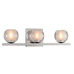 Corona 3-Light LED Vanity Light by Kalco
