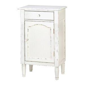 Shabby 1 Drawer Elegance Cabinet
