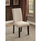 Amet Transitional Upholstered Dining Chair (Set of 2) by Darby Home Co