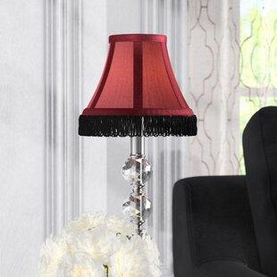 Fringe 6 Silk Bell Lamp Shade