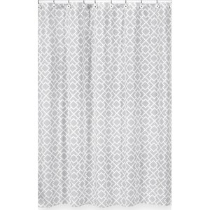 Diamond Cotton Shower Curtain