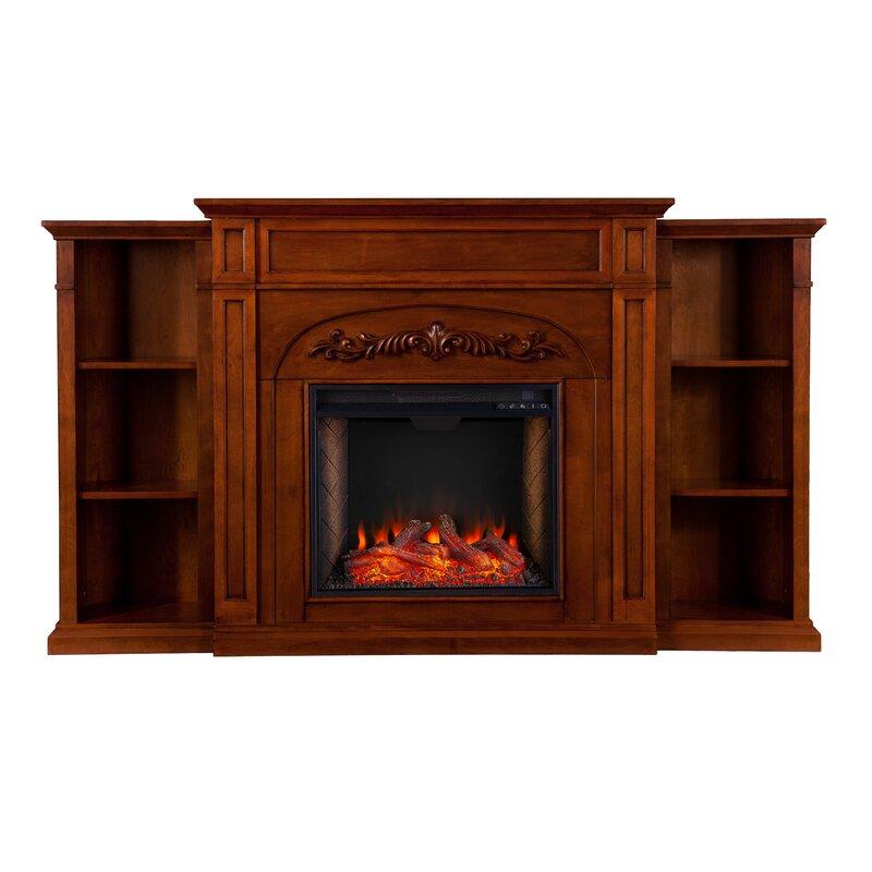 Ebern Designs Chantilly Alexa Enabled Electric Fireplace