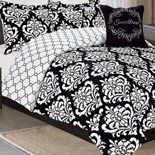 Falcone 7 Piece Reversible Comforter Set
