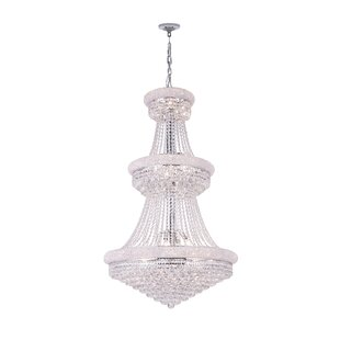 Andres 34-Light Crystal Chandelier by Rosdorf Park