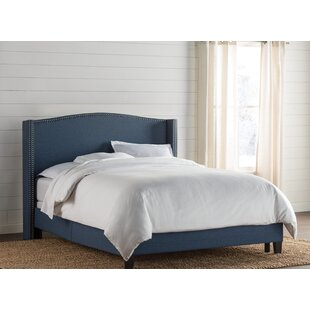Cassandra Upholstered Panel Bed by Birch Lane™ Heritage
