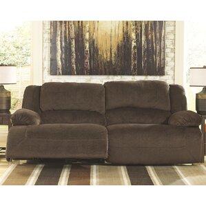 Malta Double Seat Reclining Sofa by Alcott Hill