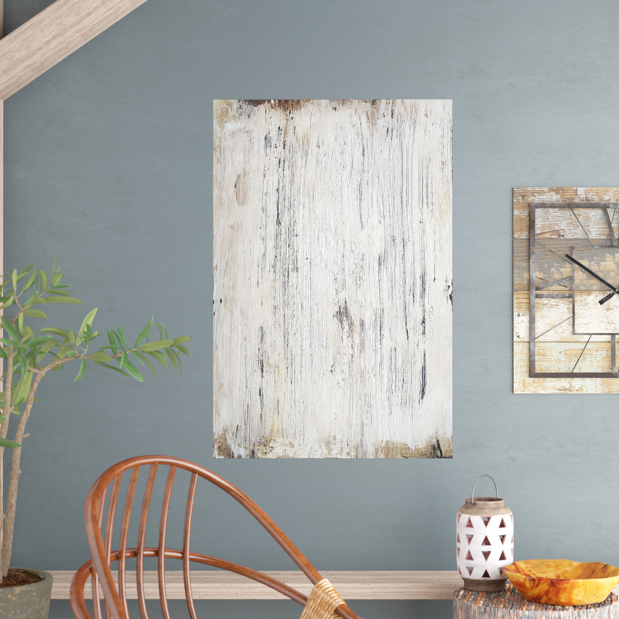 Union Rustic Chelsie White Washed Wood Removable Wall Decal | Wayfair