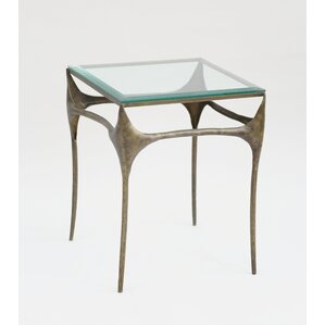 Dulcinea Iron End Table by Bloomsbury Market