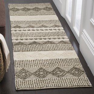 Billie Hand Tufted Woolcotton Grayivory Area Rug