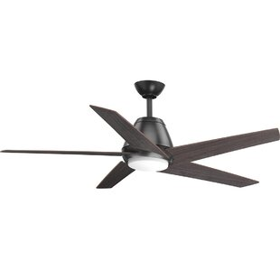 """54"""" Gehring 5 Blade LED Ceiling Fan with Remote"""