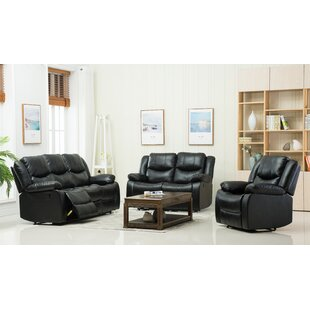 3 Reclining Piece Living Room Set Container