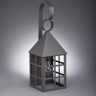 Gipson 2-Light Outdoor Wall Lantern by Al..