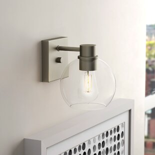 Hoover 1-Light Armed Sconce by..