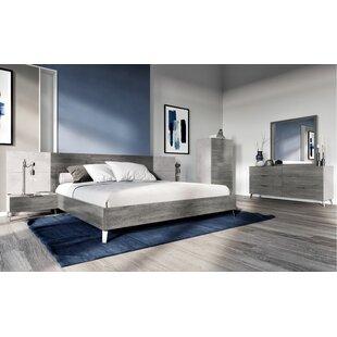 Froehlich Italian Platform 5 Piece Bedroom Set by Corrigan Studio