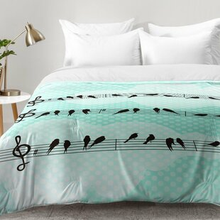 East Urban Home Musical Nature Comforter Set