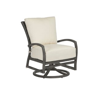 Skye Swivel Rocking Lounge Chair with Cushion