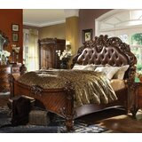 Washington Mews Tufted Low Profile Standard Bed by Astoria Grand