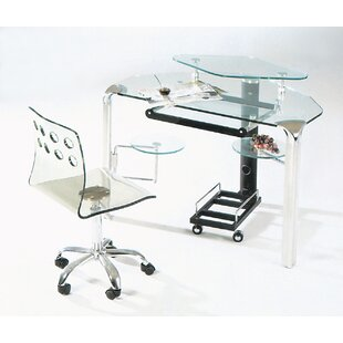 Corner Computer Desk by Creative Images International Great Reviews