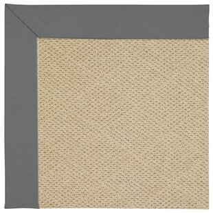 Lisle Machine Tufted Ash/Brown Indoor/Outdoor Area Rug
