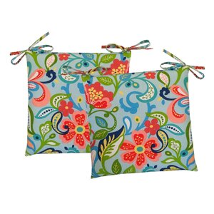 Wildwood Outdoor Dining Chair Cushion (Set of 2)