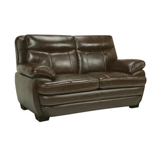 Affordable Suber Leather Loveseat by Red Barrel Studio Reviews (2019) & Buyer's Guide