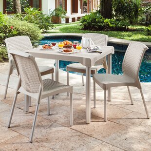 Abe Patio 5 Piece Dining Set by Winston P..
