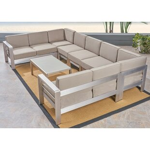 Royalston 4 Piece Sectional Seating Group by Brayden Studio