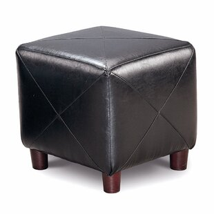 Aswathanarayanan Cube Ottoman by Ebern Designs