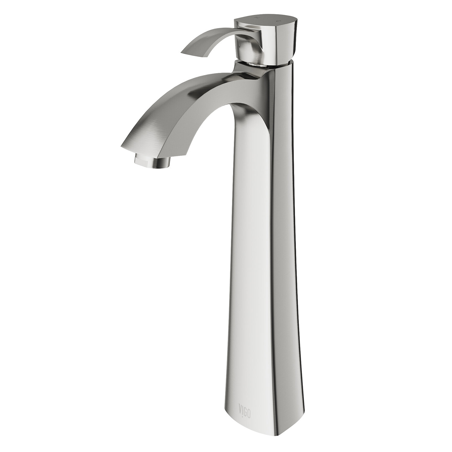 VIGO Otis Single Hole Bathroom Faucet & Reviews | Wayfair
