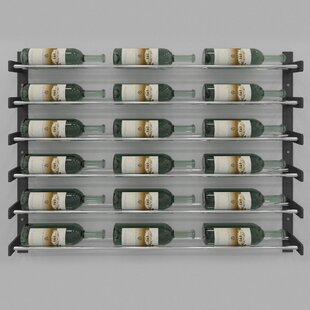 Evolution Series 18 Bottle Wall Mounted Wine Rack