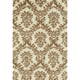 Milne Cream/Brown Indoor/Outdoor Area Rug by House of Hampton Today Only Sale