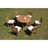 Parnassus 7 Piece Teak Dining Set