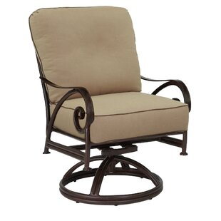 Lucerne Swivel Rocking Chair with Cushion