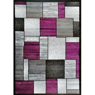 Bennet Purple/Gray Indoor/Outdoor Area Rug