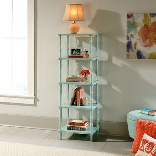 Wales Tower Etagere Bookcase by Bungalow Rose