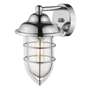 Hitchcock Outdoor Sconce by Breakwater Bay
