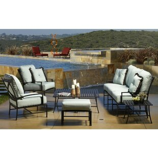 La Jolla 4 Piece Sunbrella Seating Group with Cushions