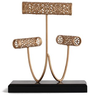 Best Mesh Roller Metal Display Jewelry Stand Hanger ByCharlton Home
