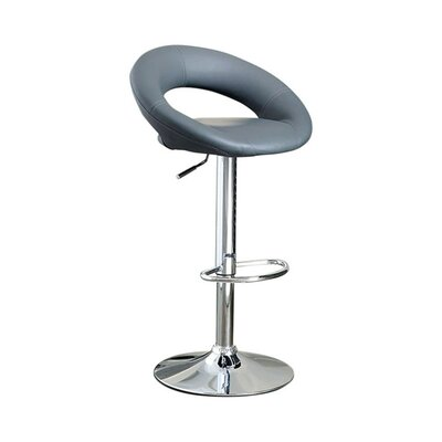 Awesome Mayr Adjustable Height Swivel Bar Stool Orren Ellis Ncnpc Chair Design For Home Ncnpcorg