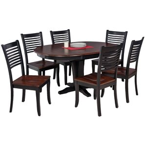 Maryrose Modern 7 Piece Dining Set with Oval Table by Darby Home Co