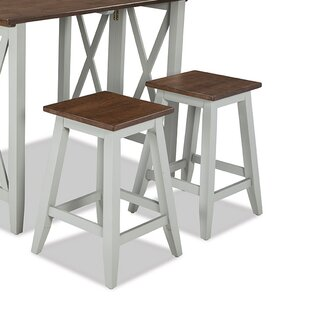 Imagio Home by Intercon Small Space Living Bar Stool (Set of 2)
