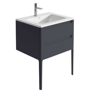 Doyon 800mm Free-Standing Vanity Unit By Ebern Designs