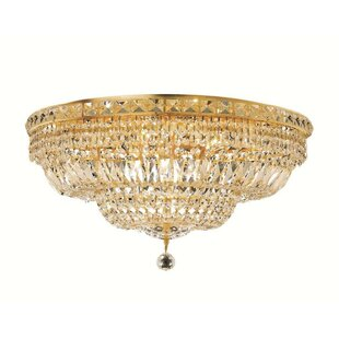 House of Hampton Fulham 12-Light Flush Mount