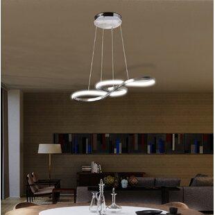 Orren Ellis Brigham 1-Light LED Novelty Pendant