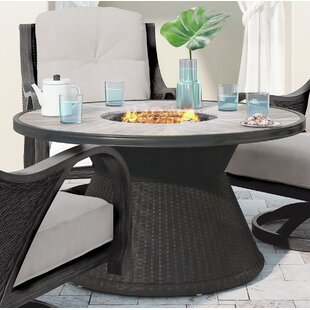 Bayou Breeze Kohn Aluminum Propane Fire Pit Table