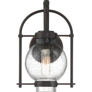 Knupp LED Outdoor Sconce by Charlton Home