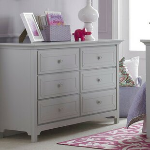 6 Drawer Double Dresser by Ti Amo